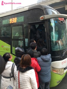 """In 2011, Beijing had more than 28,343 buses carrying over 13.39 million person/trips a day"""