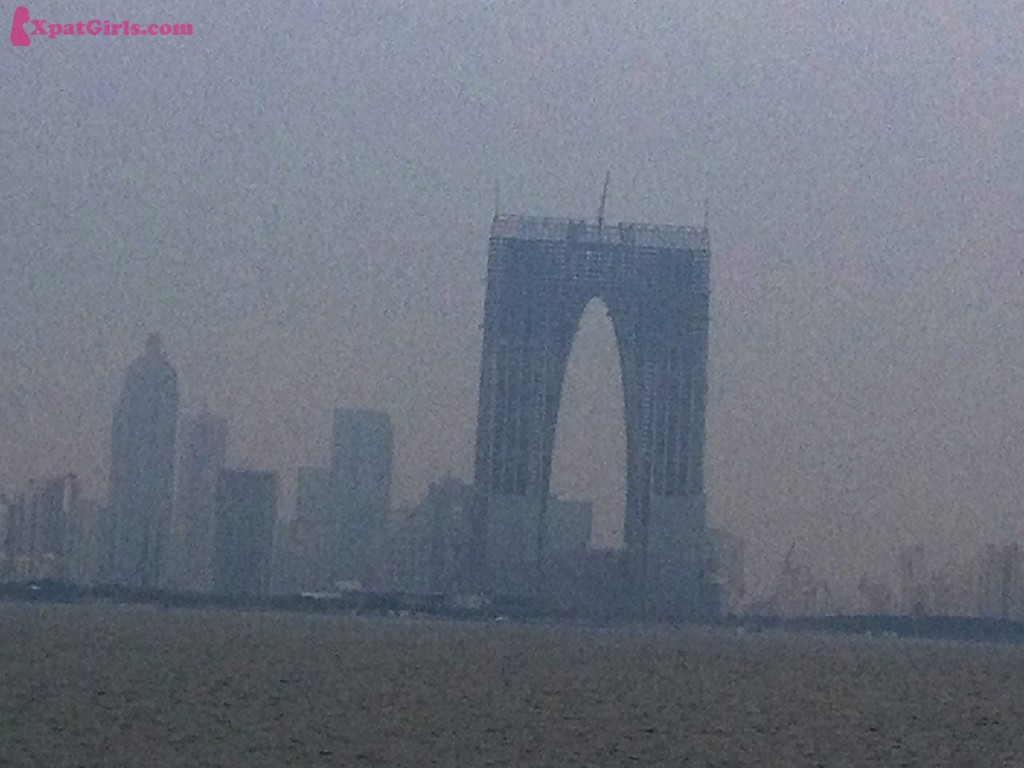 Suzhou- a city in south of China that doesn't have free heating and also suffers from heavy pollution