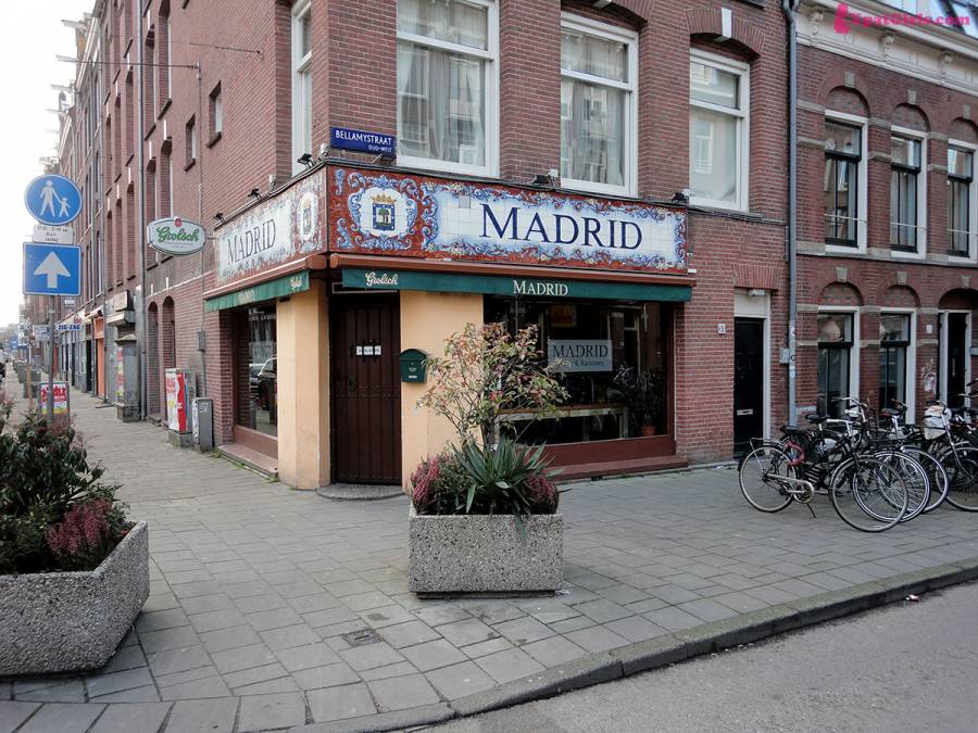 City within a city…or how I found a flavor of Madrid in Amsterdam