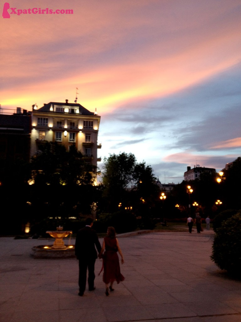 Best sunsets I have seen are in Madrid