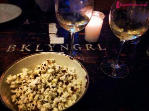 Brooklyn Girl: Any restaurant that serves flavored popcorn right upon your arrival wins my hearts!