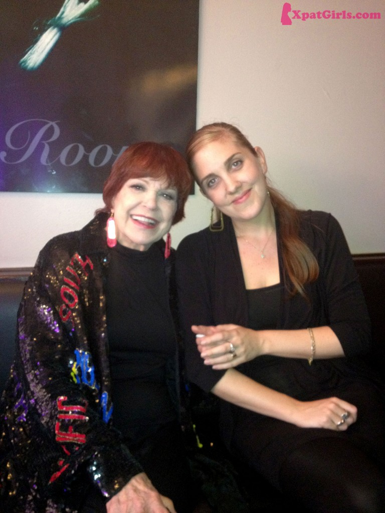 With the great Annie Ross