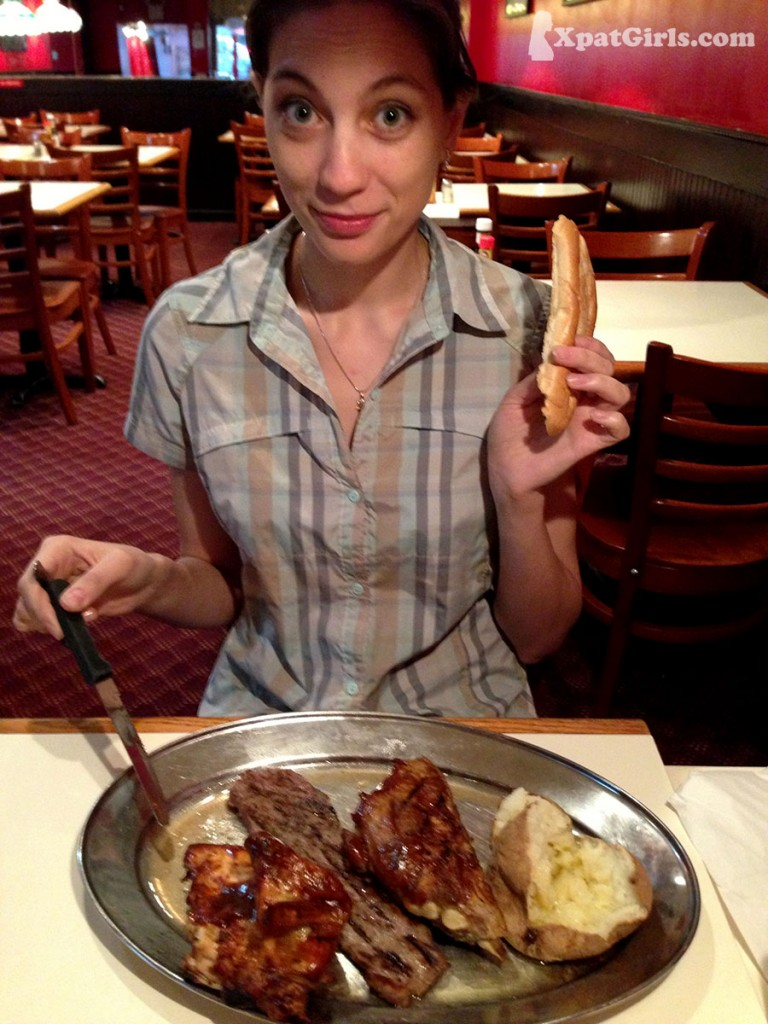 Everybody knows that the portions in the US are huge