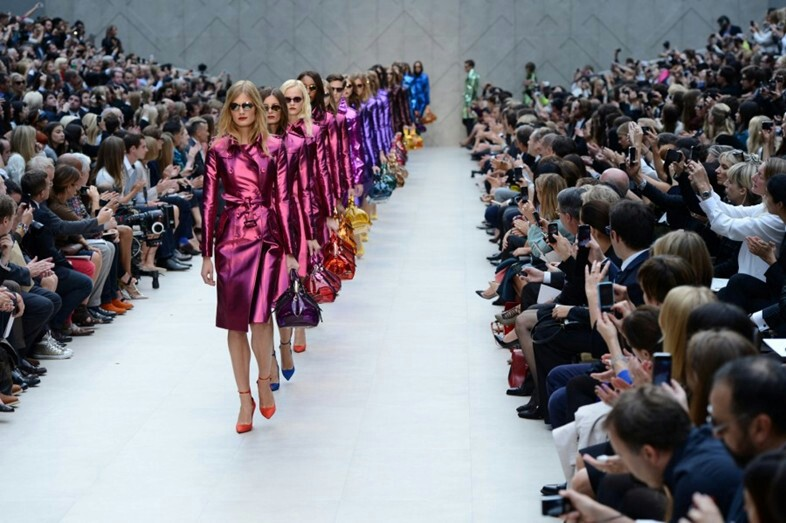 Burberry Prorsum SS13 | Photo credits: Dazed&Confused
