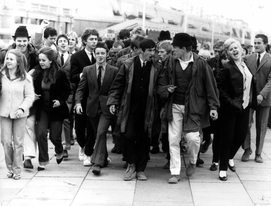 """I don't wanna be the same as everybody else. That's why I'm a Mod, see? I mean, you gotta be somebody, ain't ya, or you might as well jump in the sea and drown."" Jimmy, Quadrophenia."