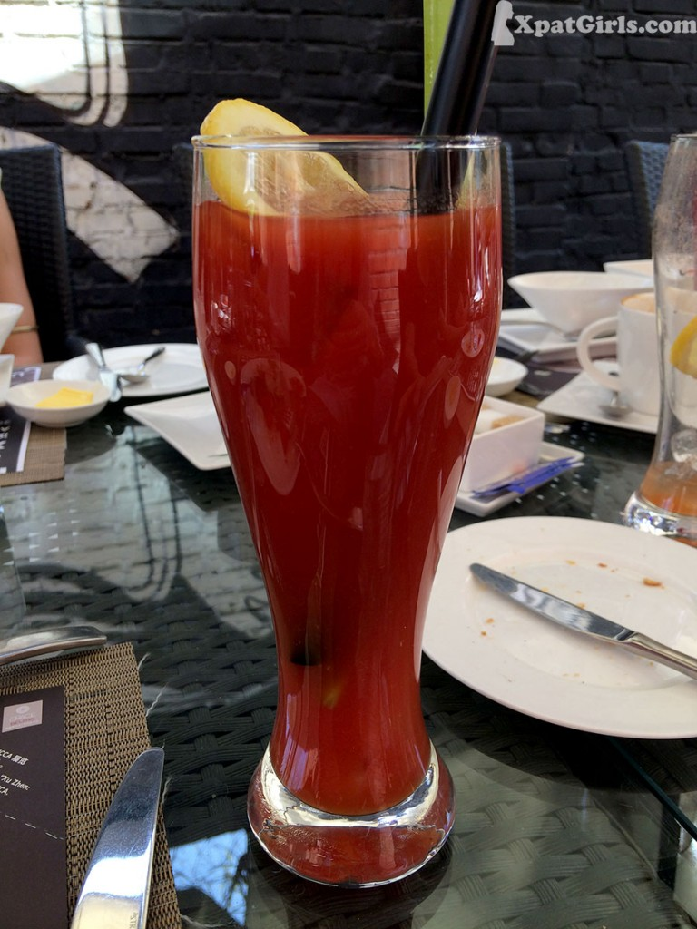 Grace's spicy Bloody Mary