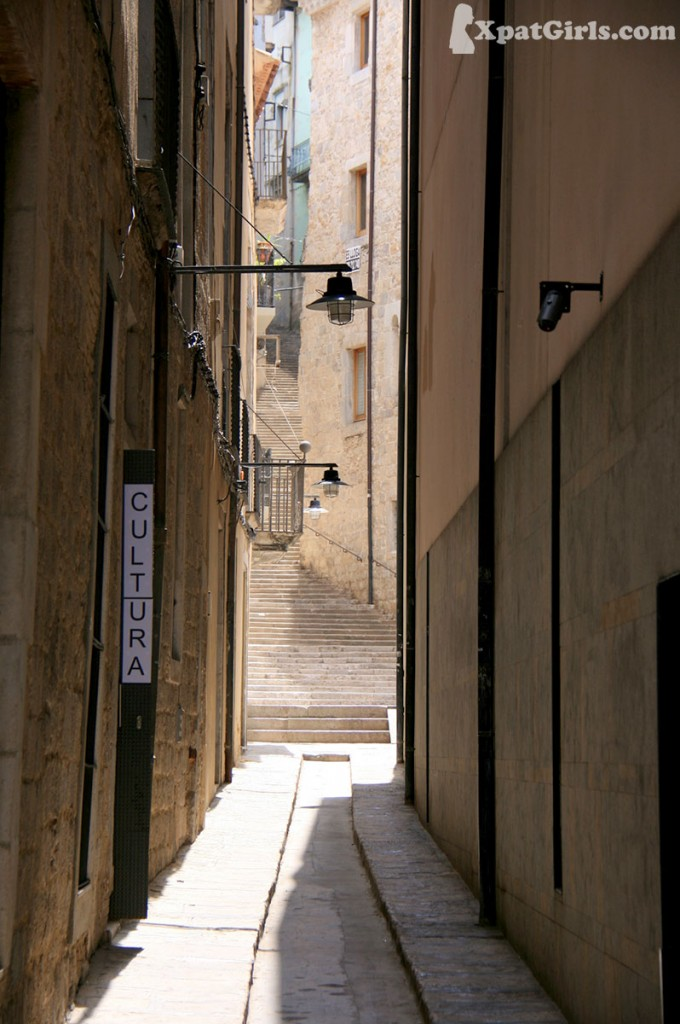 A street from the Jewish Quarter in Girona