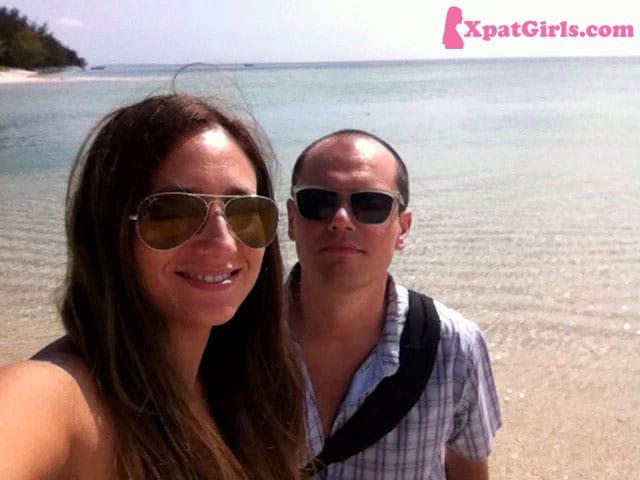 Federico and I - Mafia Island