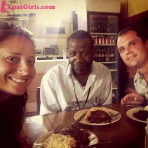 Federico (my boyfriend), Kassim (a friend) and I