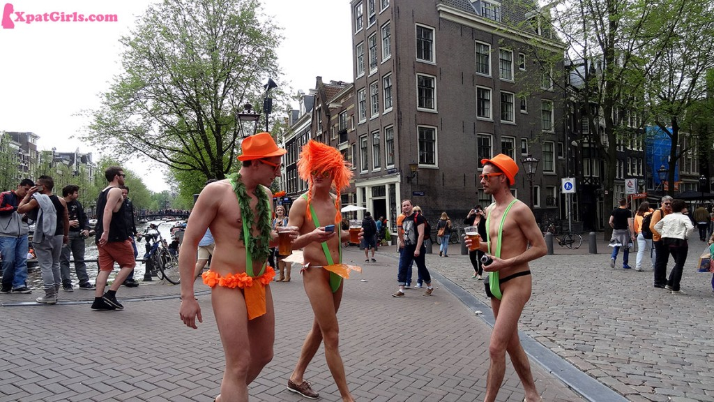 If it's one day to walk almost naked in the street, that's King's Day