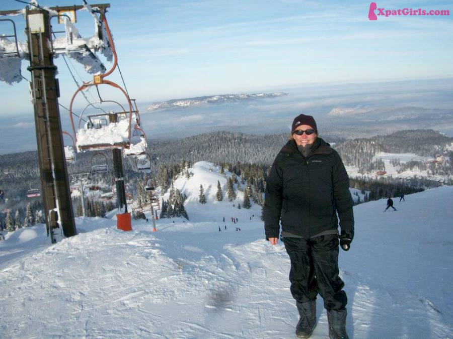 Snowboarding in Jahorina just outside Sarajevo