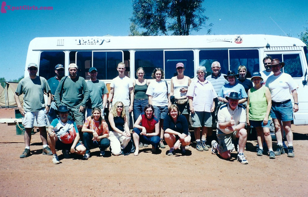 Oz-the outback tour group