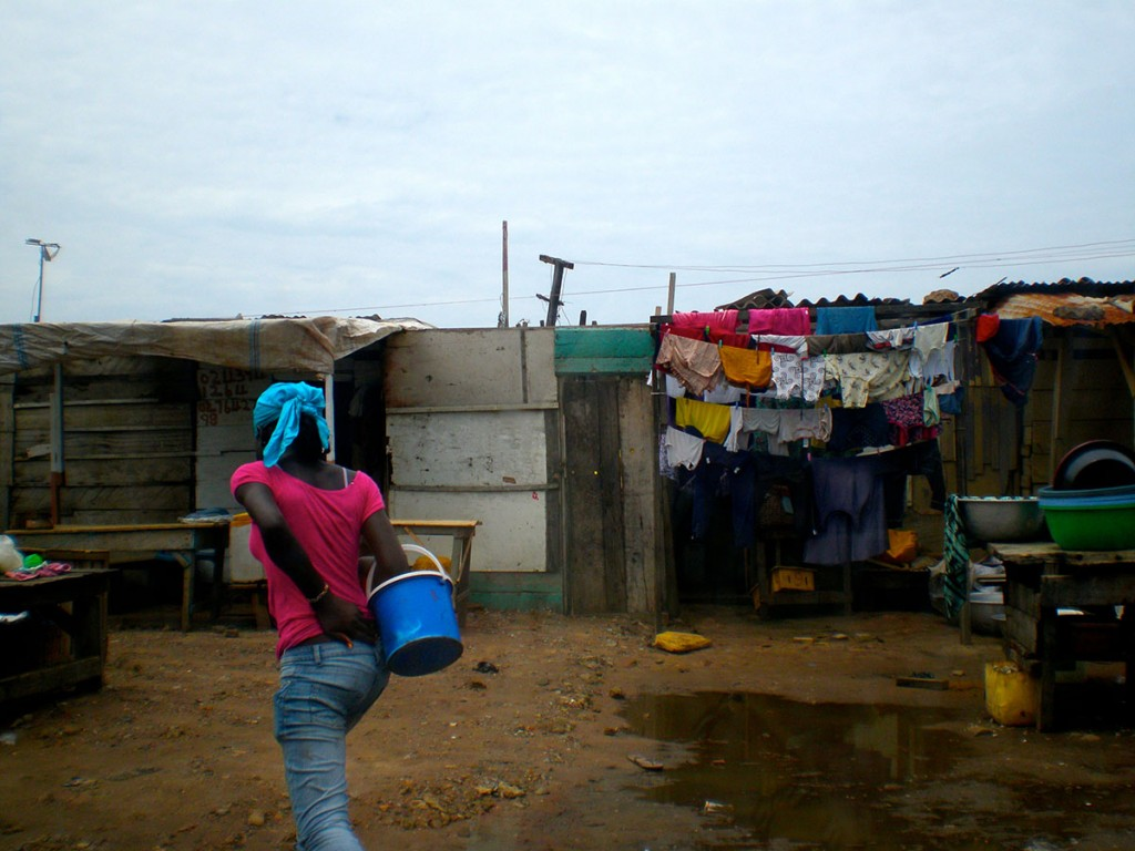 Normal living conditions in Ghana