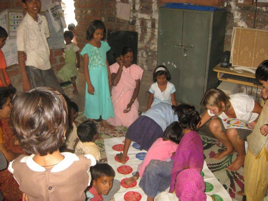 while working in India I had the opportunity to volunteer at a small school for a couple of weeks