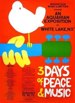 Poster Woodstock