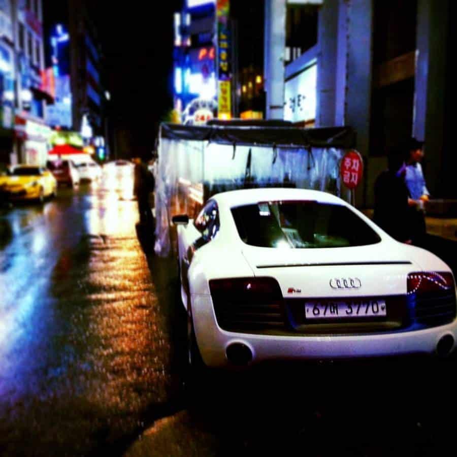 Audi R8 Dunsan Daejeon Korea