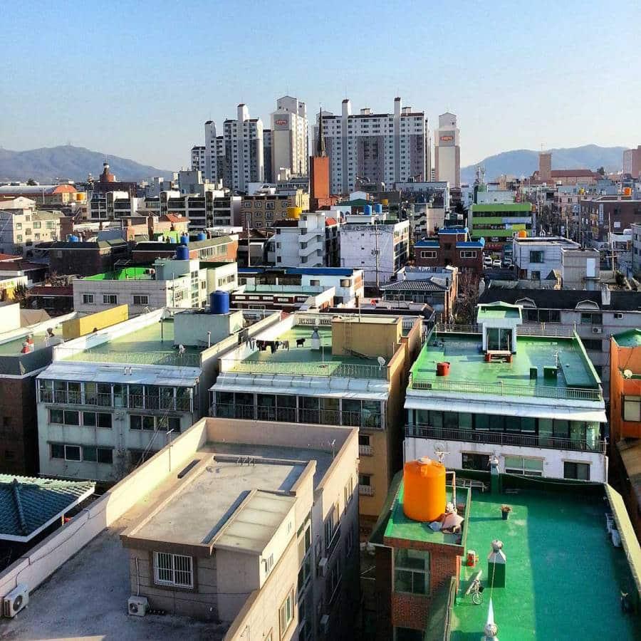 Daejeon Korea Rooftop