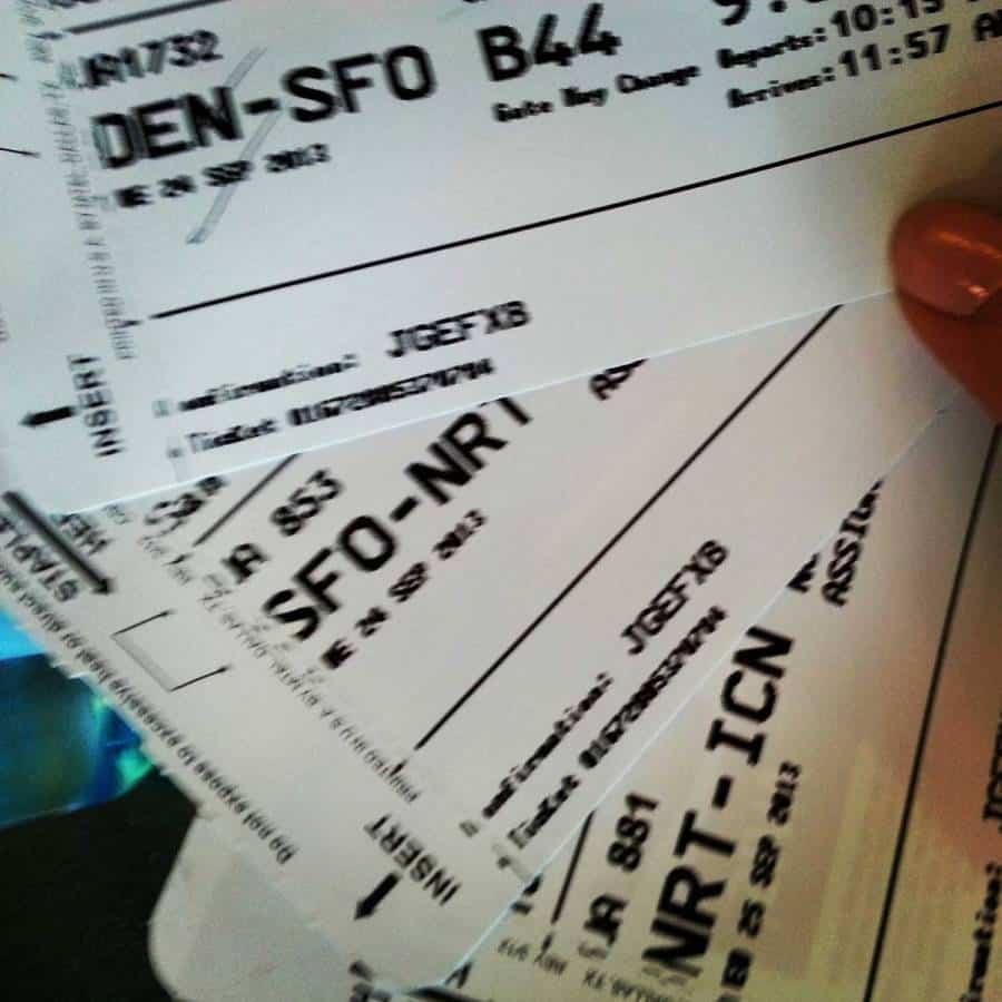 Korea Plane Tickets