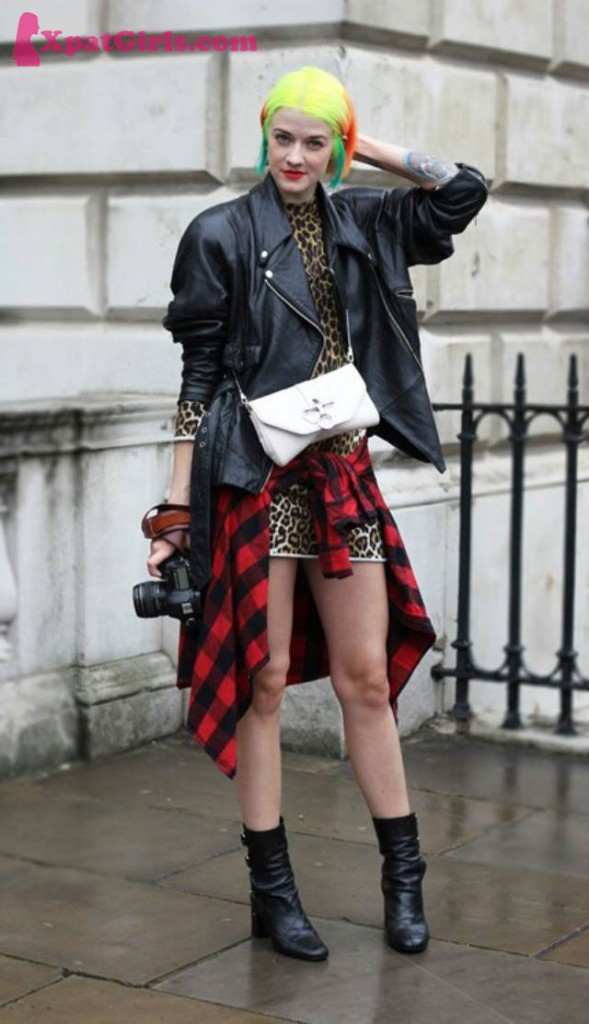 Punk never dies at Somerset House LFW AW14