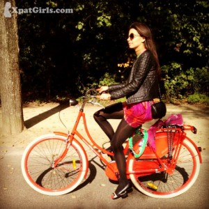 Life on my lovely red bike