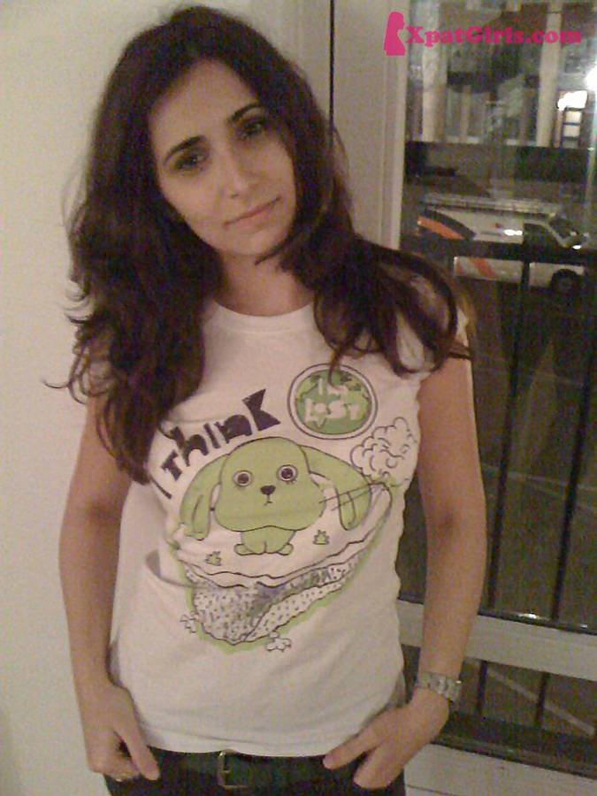 """Me in my """"I think I'm lost"""" Tshirt, on my arrival day in the Netherlands, November 2011"""