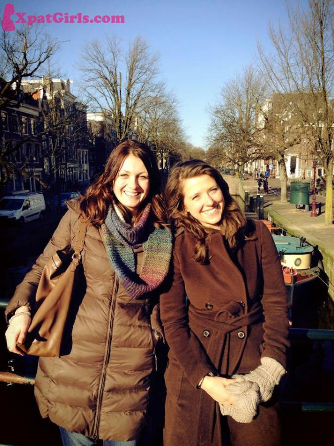 Me with one of my best friends visiting Amsterdam