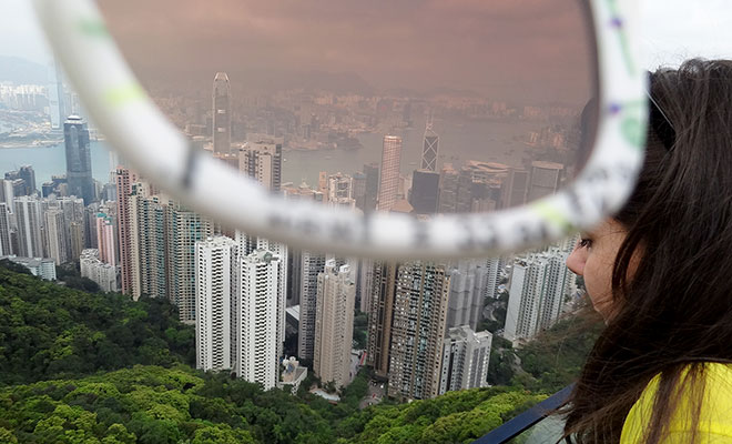 Vistoria's Peak in Hong Kong