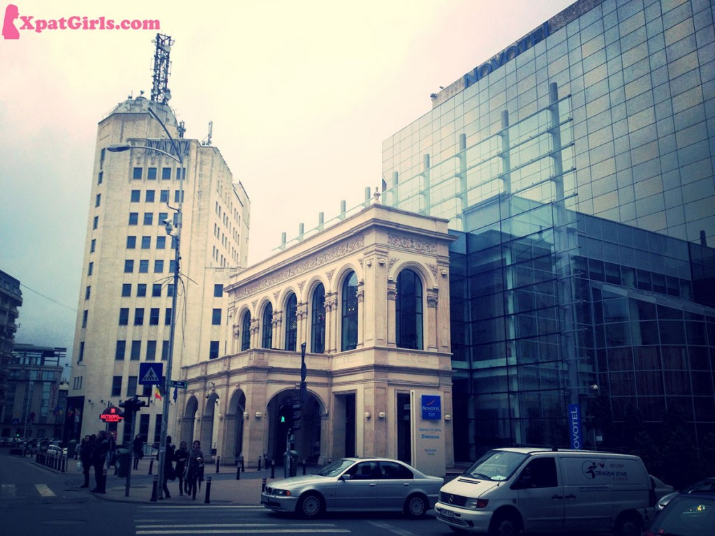 Bucharest, city center