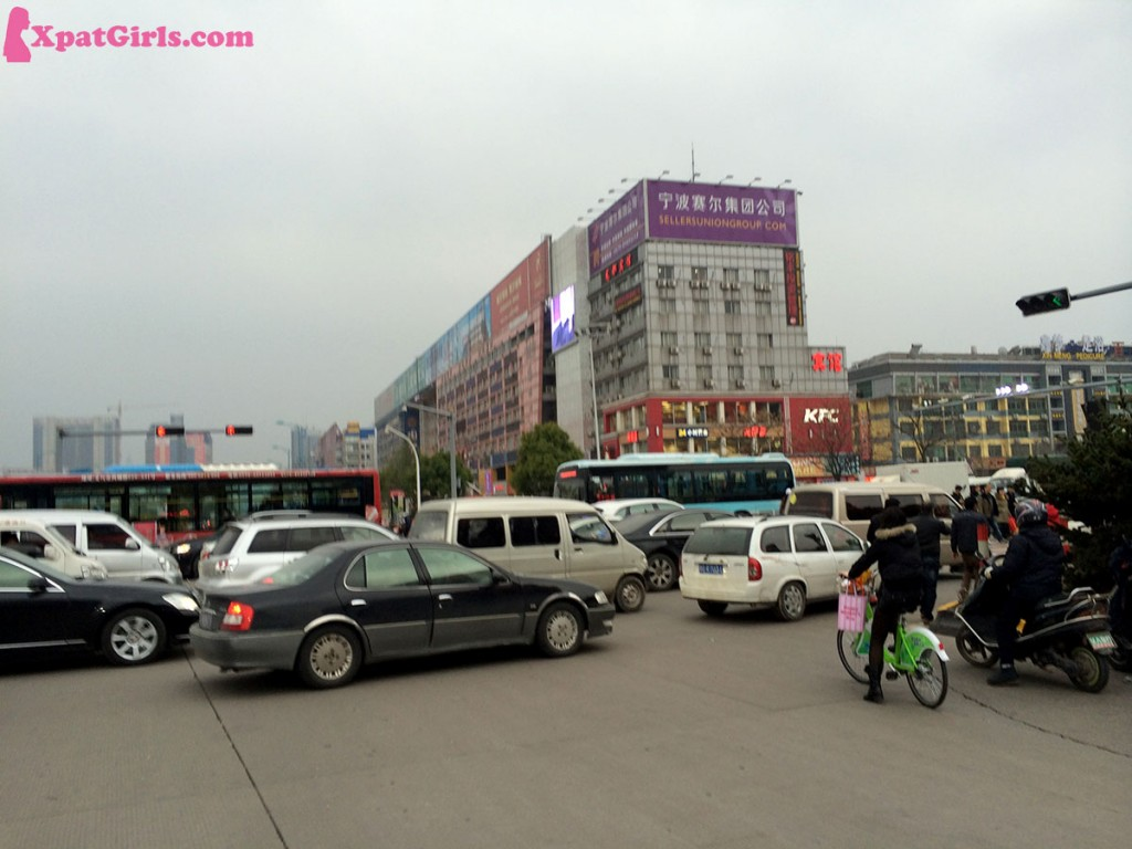 The famous Yiwu drivers… all stand in the traffic jam and nowhere to go. Ugh!