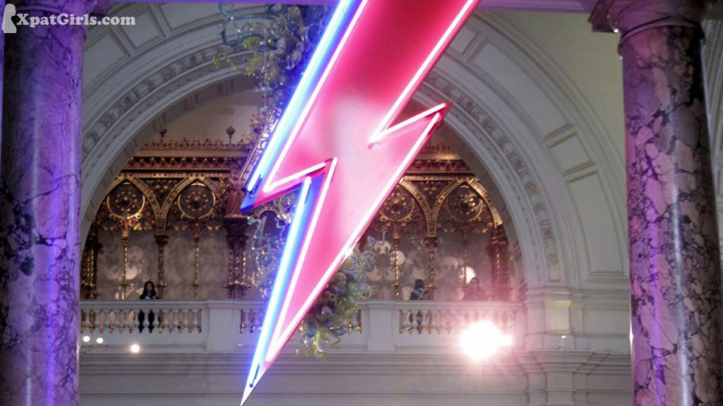 Bowiemania has come to town at the Victoria & Albert Museum.