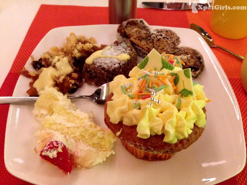 Festive cupcake!