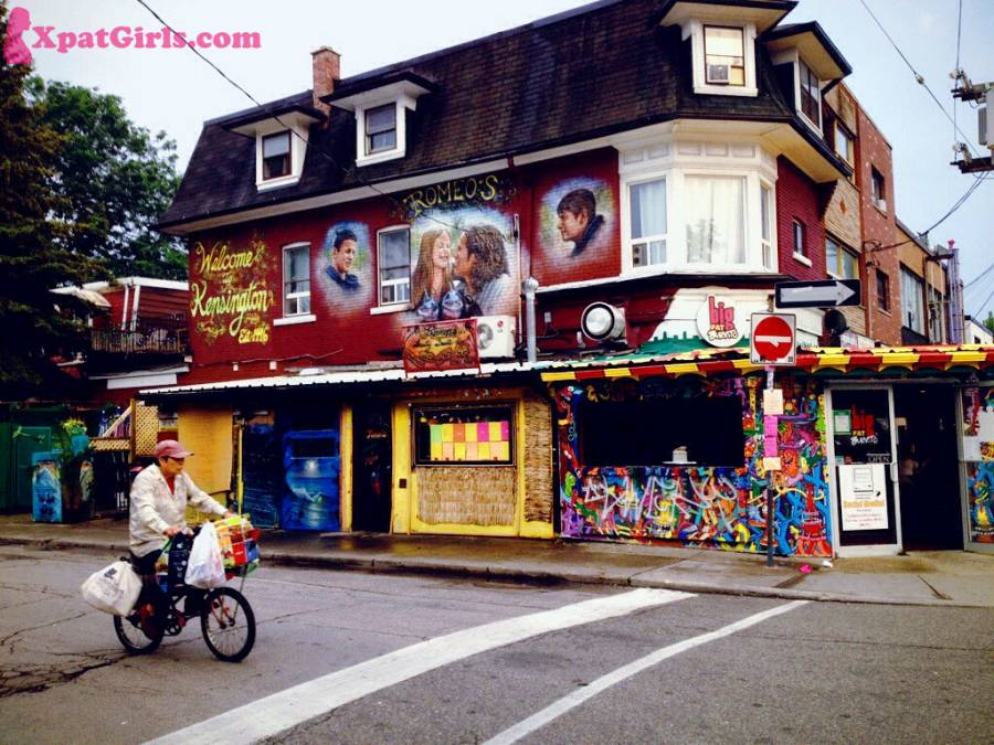 One of my fav neighborhoods in Toronto. It has an eclectic mix of cafes, organic food stores, fresh produce and grocers. In the summer months, you can spot musicians and actors performing on the streets