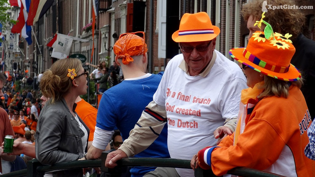 And as the latest touch, God created the Dutch