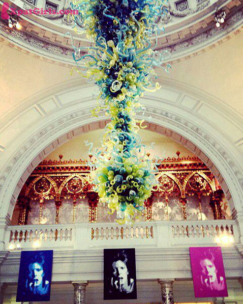 The V&A Chandelier by Dale Chihuly