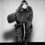 David Bailey, British Vogue, 1964, Jean Shrimpton in coat by London of Sloane Street
