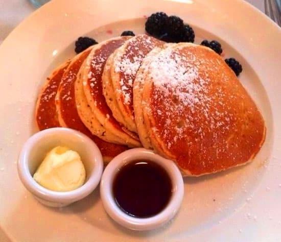 Blackberries pancakes…yummy