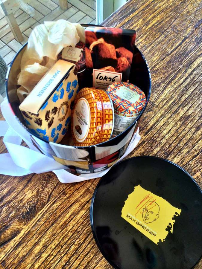 Max Brener Chocolate Box – one of the presents I received