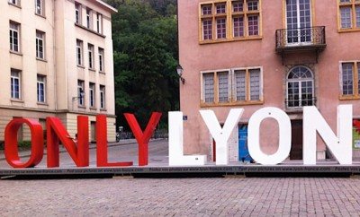 The iconic ONLY LYON sign - cover
