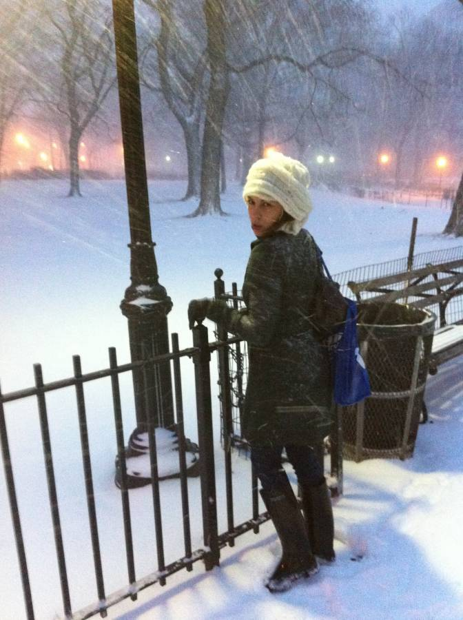 My first blizzard in NYC